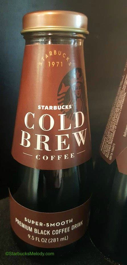 The new strawberry cold brew combines the caffeine punch of iced coffee with the subtly sweet flavors of white mocha and raspberry. Cold Brew in a Bottle: Starbucks deliciousness - StarbucksMelody.com