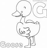 Goose Coloring Printable Coloringfolder Animal Flying Wild Goos Geese Animals sketch template