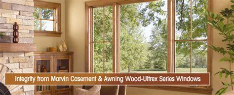 integrity casement awning wood ultrex windows