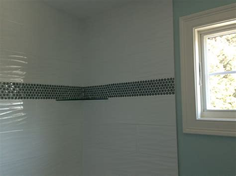 home design boston white wave tile with border transitional boston by db interiors