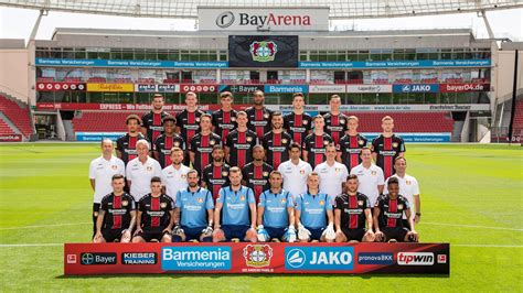 """Learn more about bayer, including its history. Bayer 04 Leverkusen on Twitter: """"😍 Our first team photo of ..."""