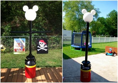 mickey mouse outdoor l post amazing interior design