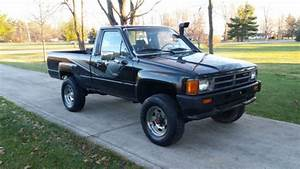 Toyota Other Standard Cab Pickup 1987 Black For Sale
