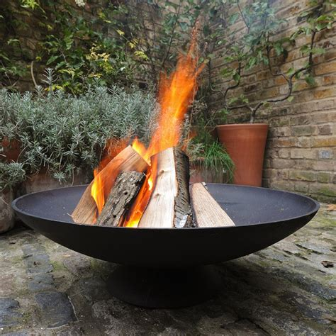 Buy Cast Iron Disc Fire Pit Delivery By Crocus