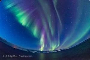 Auroras Don U0026 39 T Need Sunspots  Dynamic Swirls Of Pink Erupt