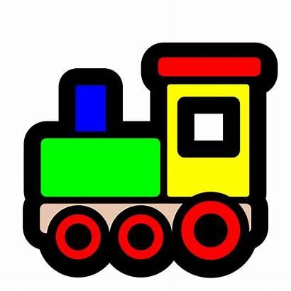 Train Toy Icon Clip Svg Trains Toys