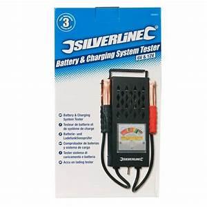 Testeur De Batterie Professionnel : testeur de batterie et de syst me de charge silverline 282625 outillage professionnel discount ~ Melissatoandfro.com Idées de Décoration