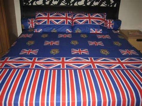 sprei bendera inggris belajar berbagi dan bersyukur