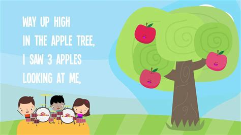 five apples in the apple tree song lyrics 893 | maxresdefault