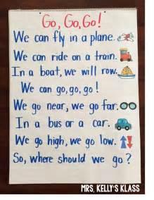 Transportation Kindergarten Poem