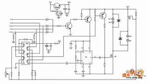 Circuit Of Remote Control Helicopter Driver Circuit