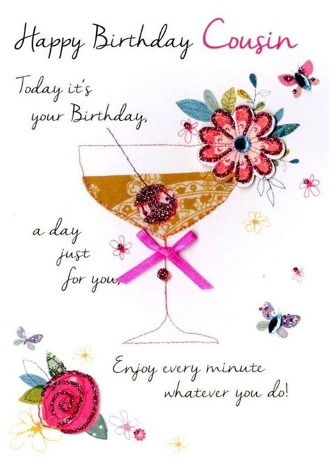 130 Happy Birthday Cousin Quotes with Images and Memes