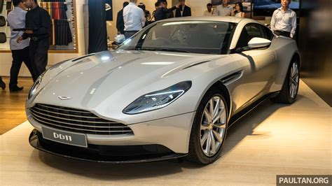 aston martin db  officially launched  malaysia amg