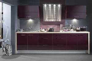 construction 86fr gt cuisine aviva cuisiniste vienne 86 With cuisine grise et aubergine