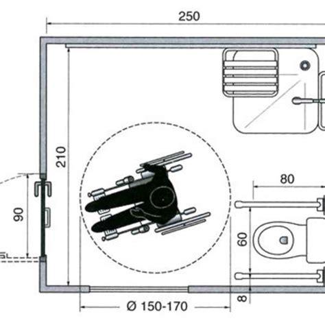 les plans d une salle de bains am 233 nag 233 e pour un fauteuil