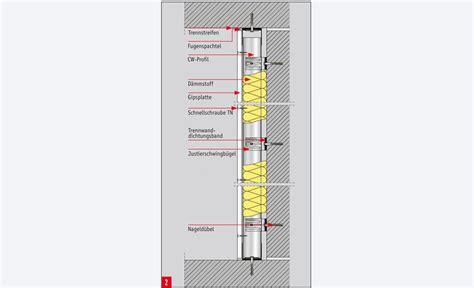Schallschutz Wohnung Wand by Schallschutz W 228 Nde Schallschutz Selbst De