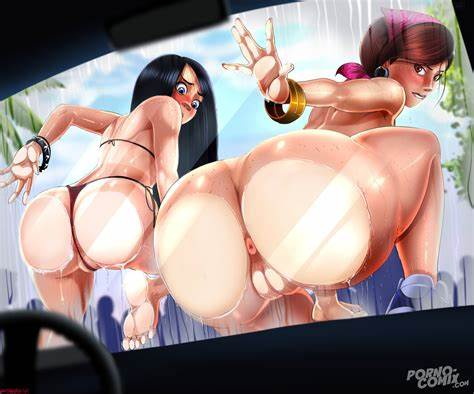 Incredible Three With A Muscle Mothers the incredibles from shadbase
