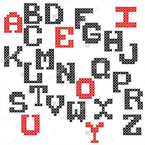 embroidery fonts  sample  format