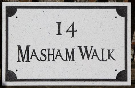 marble granite house signs name plates the sign maker