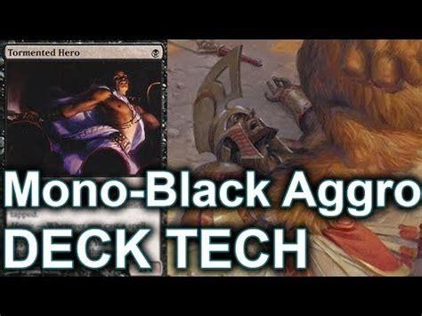 Mtg Aggro Deck Modern by Mtg Modern Deck Tech Mono Black Aggro