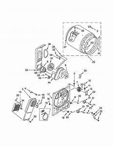 Kenmore 11066832500 Dryer Parts