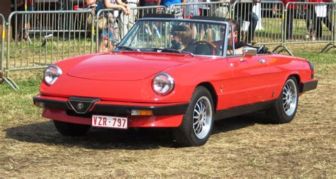 1985 alfa romeo spider information and photos momentcar