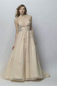 Steel and champagne wedding dresses wedding dress for Champagne wedding dress