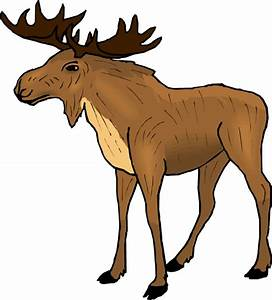 Moose Clipart Cartoon | Clipart Panda - Free Clipart Images