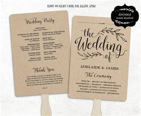25 best ideas about fan wedding programs on wedding program templates fan programs