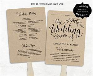 25 best ideas about fan wedding programs on pinterest With wedding invitation design course