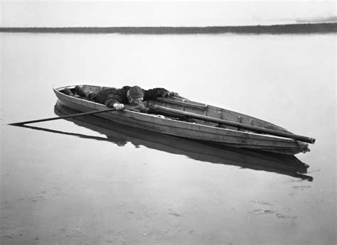 Punt Gun On Boat by A Punt Gun Used For Duck Hunting But Were Banned Because