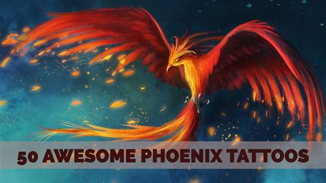 Awesome Phoenix Tattoos For Men Youtube