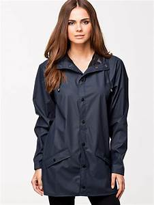 Rains Of Denmark Womens Premium Branded Waterproof Anorak Jacket Rain Coat