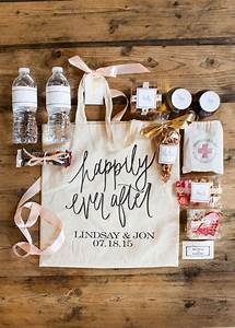 wedding wednesday what we put in our wedding welcome bags With wedding gift for bride pinterest