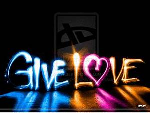 Animated Color Give Love Mobile Phone Wallpapers 320x240 ...