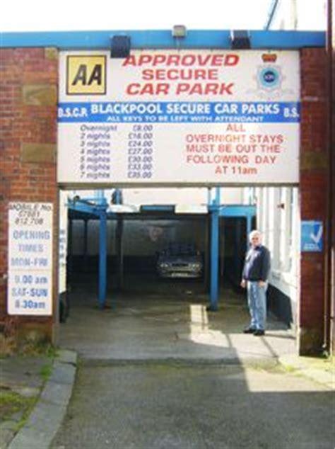 blackpool secure car park blackpool  reviews car