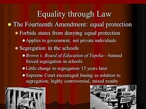 14th amendment equal protection clause supreme court cases