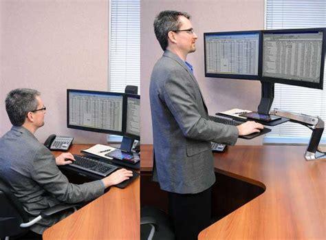 Ergotron Standing Desk Converter by Ergotron 24 316 026 Mounting Arm With 19 5
