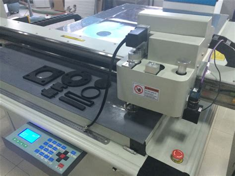 Rubber Sheet Cork Gasket Production Machine Cutter Table