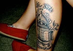 25 Splashy Bird Cage Tattoo Ideas | CreativeFan