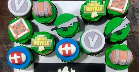 cakes  mindy fortnite cupcakes