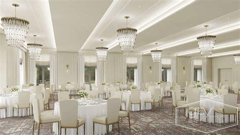 Hotel Ballroom - Grey Vector