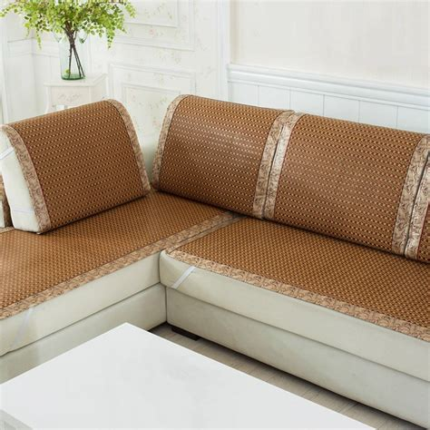 seat covers for sofas aliexpress buy high quality sofa cover plaid sofa slipcover summer cooling cover