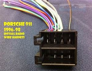 Porsche Radio Wire Harness Stereo Connect Wiring Psh