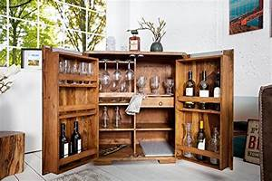Hausbar Selber Bauen : invicta interior 35897 barschrank goa 100cm die hausbar ~ Lizthompson.info Haus und Dekorationen