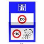 Vitesse Mini Sur Autoroute : panneaux d 39 indication du code de la route ~ Dode.kayakingforconservation.com Idées de Décoration