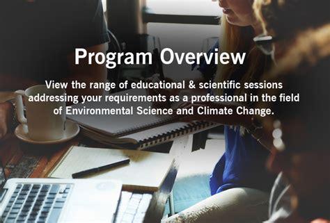 Program/ Agenda of Environmental and Climate Change ...