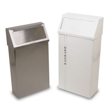 detecto  series wall mount waste receptacles heartland