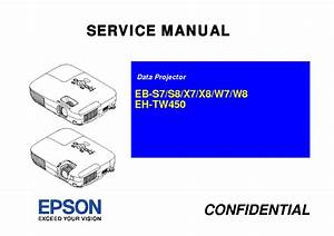 Epson Eb Sx7 8 Eh Tw450 Service Manual Free Download
