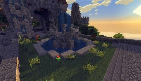 kings garden minecraft building